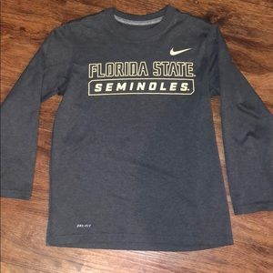 Nike DRI-FIT small long sleeve shirt